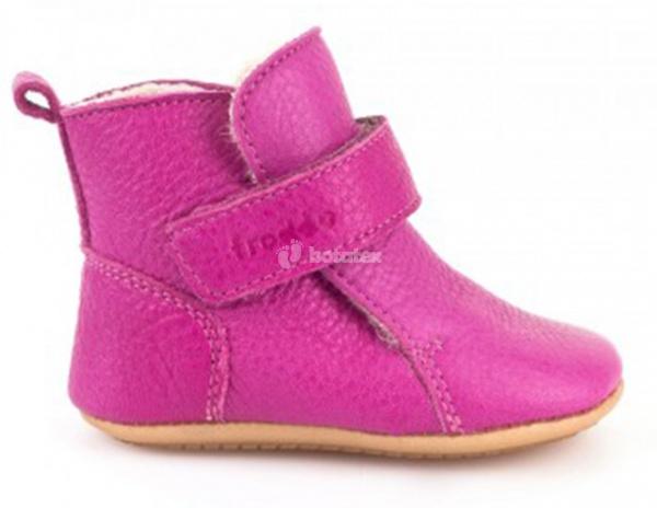 Zimní boty Frddo Prewalkers Fuchsia  e5ec1f6861d