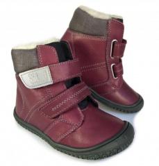 1d3a3423e5 Filii barefoot - HIMALAYA Nappa tex Wool berry